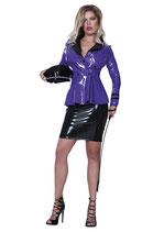 50-9232 Datex Jacke, violett-schwarz