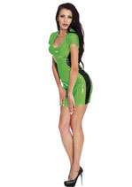 50-9227 hautenges Datex Latex Kleid