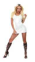 50-3257  Mini-dress mit Kapuze