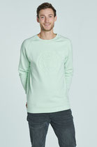 Sweater - Drunken Understatement Mint