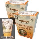 2x Fruchtfliegen-Lebendfalle Trapango®