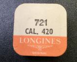 Longines 420 - Teil 721 Unruhe komplett