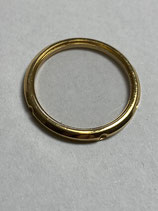 Ebel Sport Classic Wave Mini - Ebel Teil /440 für Ref: 1057901 - komplette Lünette mit Saphirglas in 750 Gold - complete bezel with saphire glass in 750 Gold