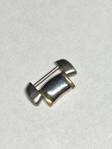 Ebel Sport 1911 - Ref: 1187241/665.02 - Armband Ersatzglied Stahl/Gold - Breite 17mm - verschraubt - NOS (New old Stock)