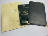 Audemars Piguet Vintage Booklet Set für Royal Oak Jumbo und andere- siebziger, achtziger Jahre - NOS (New old Stock)