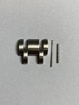 Zenith Armband Edelstahl Ersatzglied für Modelle Rainbow z.b. 02.0480.405 oder  -02.0472.670 und andere - 17,5 mm breit - satiniert - neuwertig