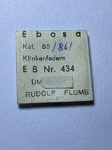 Ebosa 85 - Teil 434 - Klinkenfeder - NOS (New old Stock)