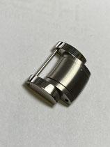 Baume & Mercier Armband Ersatzglied z.b. für Capeland 65687 - Edelstahl satiniert / poliert - Breite ca. 20 mm -  neuwertig