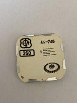 Eta 746 - Teil 260 - Wechselrad - NOS (New old Stock)(ENG)