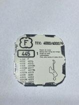 Felsa 4000/4000N (+ andere Kaliber siehe Foto) - Teil 445 - Winkelhebelfeder - OVP - NOS (New old Stock)+(ENG)