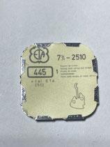 ETA 2510,2512 - Teil 445 - Winkelhebelfeder - NOS (New old Stock)(ENG)