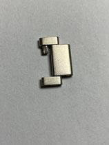 Unidor / Expandro Vintage Edelstahl Armband Ersatzglied - Breite ca 17 mm - (leicht gebraucht guter Zustand - lightly used good condition)