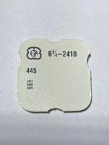 ETA 2410,2412 (+ andere Kaliber siehe Foto) - Teil 445 - Winkelhebelfeder - NOS (New old Stock)+(ENG)