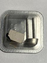 Ebel Discovery Ref.: 983913 660.33 - halbes Armband Ersatzglied / Stück Stahl - Breite 16mm - verstiftet - OVP - NOS (New old Stock)