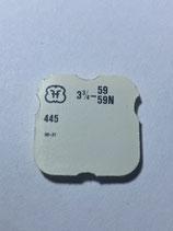 FHF 59 (+ weitere Kaliber siehe Bild) - Teil 445 - Winkelhebelfeder - OVP - NOS (New old Stock)(ENG)(KOL1)