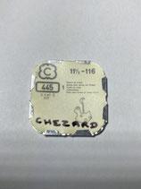 Chezard 116,117 - Teil 445 - Winkelhebelfeder - OVP - NOS (New old Stock)(ENG)
