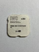 IWC 854 - Teil 401 - Aufzugwelle NOS (New old Stock)
