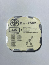 ETA 2502 (+ andere Kaliber siehe Foto) - Teil 445 - Winkelhebelfeder - OVP - NOS (New old Stock)(ENG)