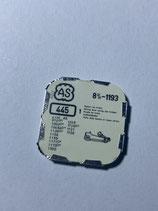 AS 1193  (+ weitere Kaliber siehe Bild) - Teil 445 - Winkelhebelfeder - OVP - NOS (New old Stock)(ENG)(KOL1)