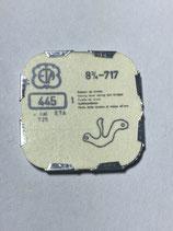 ETA 717 (+ andere Kaliber siehe Foto) - Teil 445 - Winkelhebelfeder - NOS (New old Stock)(ENG)