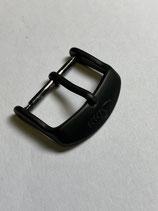 Sinn Spezialuhren Edelstahl Dornschließe schwarz matt - 20 mm Anstoss - NOS (New old Stock)