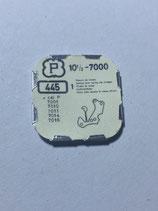 Peseux 7000 (+ weitere Kaliber siehe Bild) - Teil 445 - Winkelhebelfeder - OVP - NOS (New old Stock)+(ENG)