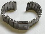 Le Roy by Baume & Mercier - komplettes Armband mit Faltschließe - Gesamtlänge ca 15 cm - Gesamtbreite am Anstoss 20 mm - Anstossbreite zur Montage an der Uhr 16 mm