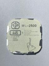 ETA 2500,2520 (+ andere Kaliber siehe Foto) - Teil 445 - Winkelhebelfeder - NOS (New old Stock)+(ENG)