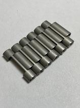 NSA (Novavit) Vintage Edelstahl Ersatzglied - link - 18 mm breit (guter gebrauchter Zustand - good used condition)