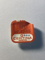 Certina 25-65,25-651 - Teil 445 - Winkelhebelfeder - OVP - NOS (New old Stock)
