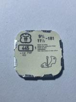 FHF 181 (+ weitere Kaliber siehe Bild) - Teil 445 - Winkelhebelfeder - OVP - NOS (New old Stock)(ENG)
