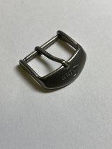 Sinn Spezialuhren Edelstahl Dornschließe glasperlgestrahlt - 18mm Anstoss - NOS (New old Stock)
