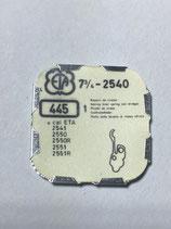 ETA 2540 (+ andere Kaliber siehe Foto) - Teil 445 - Winkelhebelfeder - NOS (New old Stock)+(ENG)