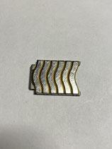 Ebel Sport Classic Wave - doppeltes Armband Ersatzglied Stahl/Gold - Breite 15mm - gestiftet - guter gebrauchter Zustand (mit leichten Gebrauchsspuren)(2)