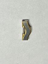 Ebel Sport Classic Wave - Ref: 1057901/626.02 - Armband Ersatzglied Stahl/Gold - Breite 11mm - verschraubt - NOS (New old Stock)