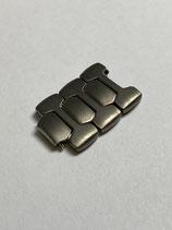 Sinn Spezialuhren (FS - Friedrich Stahl) Vintage Titan Ersatzglied - link - z.B. Sinn 157 & andere - 16 mm breit satiniert (leicht gebraucht guter Zustand - lighly used good condition)