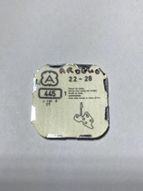 Arogno 27,28 - Teil 445 - Winkelhebelfeder - OVP - NOS (New old Stock)(ENG)