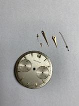 Leonidas Vintage Chronograph Zifferblatt & Zeigersatz für Valjoux 23 - Leonidas Vintage Dial & Hands - durchmesser ca. 31,5 mm - gebraucht  - used
