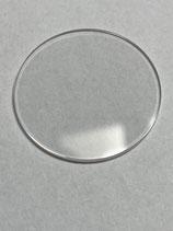 Ebel Dresswave - Ref: 0187941/450 - Saphirglas  / saphire glass - Durchmesser ca 26mm - höhe ca 1 mm - NOS (New old Stock)