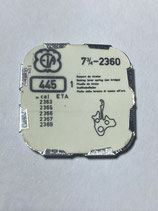 ETA 2360 (+ andere Kaliber siehe Foto) - Teil 445 - Winkelhebelfeder - NOS (New old Stock)+(ENG)