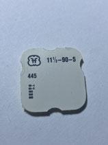 FHF 90,905 (+ weitere Kaliber siehe Bild) - Teil 445 - Winkelhebelfeder - OVP - NOS (New old Stock)(ENG)(KOL1)
