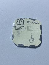 Peseux 7024 (+ weitere Kaliber siehe Bild) - Teil 445 - Winkelhebelfeder - OVP - NOS (New old Stock)(ENG)