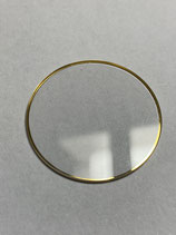 Ebel Sport Classic Wave - Ref: 8187141/450 - Saphirglas mit Dichtung / saphire glass with gasket - Durchmesser ca 27mm - höhe ca 1 mm - NOS (New old Stock)
