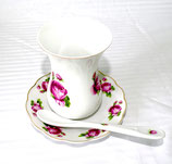 Teegläser 18teiliger Set aus Porzellan