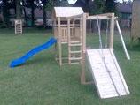 "Fichtenholz-Spielturm Modell 11 ""HACKY"""