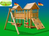 """Fichtenholz-Spielturm Modell 6 """"VAXE"""""""