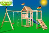 "Fichtenholz-Spielturm Modell 5 ""MOBBEL"""