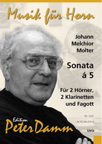 Johann Melchior Molter: Sonata á 5