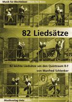 Manfred Schlenker: 82 Liedsätze