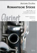 Antonin Dvorak: Romantische Stücke op. 75 Nr. 1-3